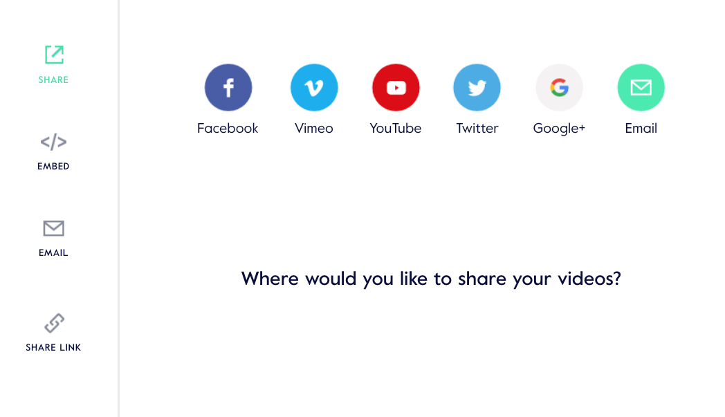 How do I share my video on social media? (Web) – Help